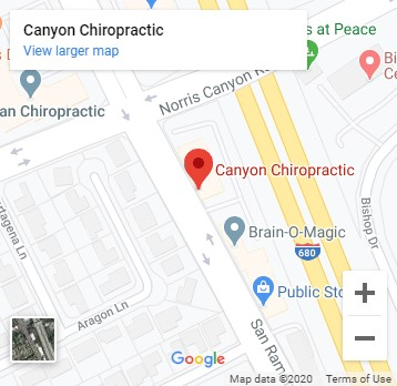 Map of Canyon Chiropractic